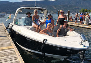 Kelowna Water Taxi Cruises offers private tours for any single or group up to 9 passengers, where participants can divide the overall cost into an extremely reasonable amount for a fabulous tour!